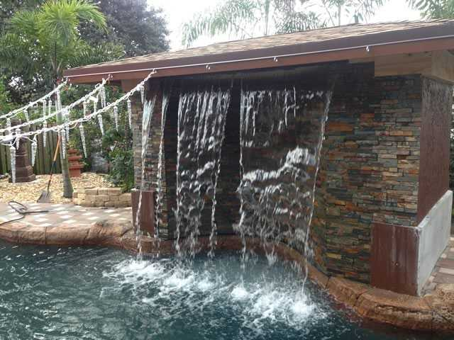 Cooper City Pool Remodel - After Image