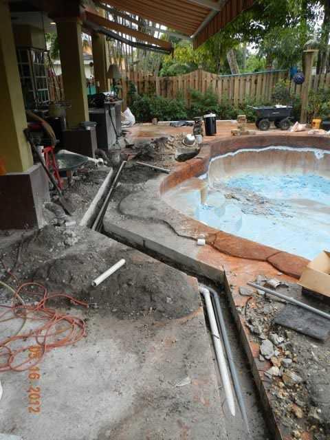 Cooper City Pool Remodel