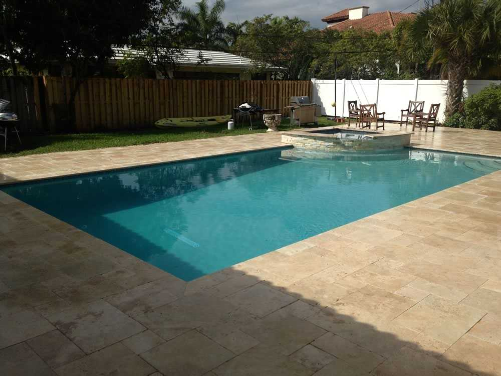 Raise Spa and Reshape The Deck During Construction Image