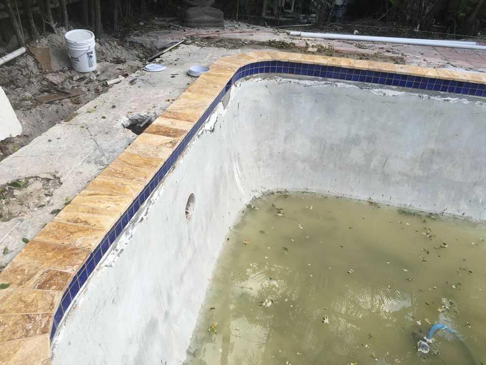 Spa Modernizing During construction Image